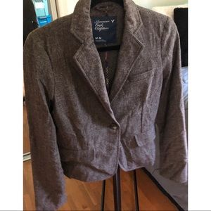 Women's American Eagle Tweed Blazer